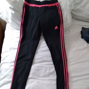 Womens size small Adidas track pants